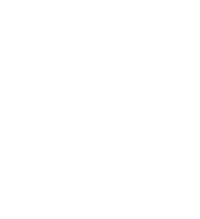 Accessibility Logo White